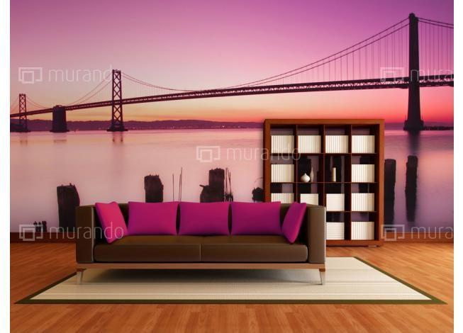 Tapeta Zátoka San Francisco #sanfrancisco #sunset #homedesign #modernliving