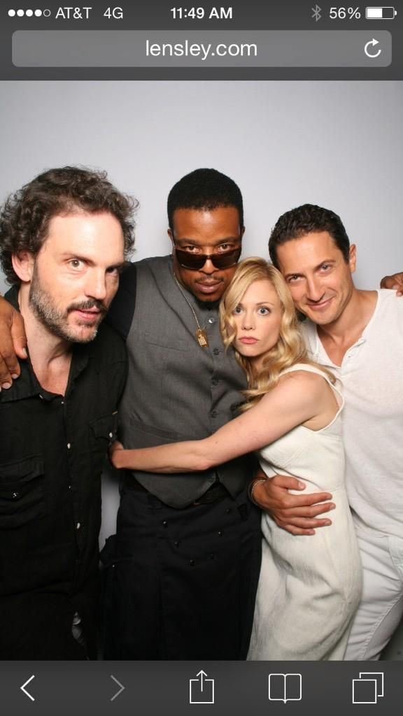 Silas Weir Mitchell, Russell Hornsby, Claire Coffee, and Sasha Roiz.