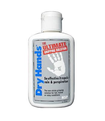 DRY HANDS is a performance enhancing solution that alleviates grip problems caused by perspiration or rain. So effective, it actually repels water. Feel the difference with DRY HANDS, the most natural and comfortable grip available in sports today. $9.99  www.badkittyexoticwear.com