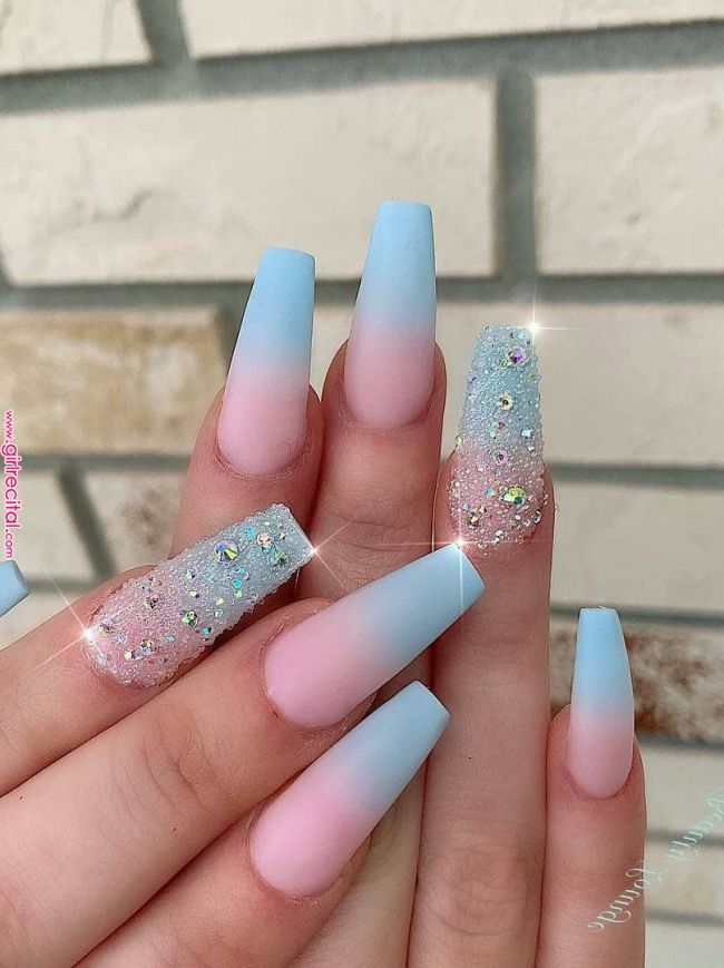 51 Fancy Nail Ideas To Update Your Jewelry Box 2019 In 2019 Nail Art Nail Designs Coffin Nai Ombre Acrylic Nails Bright Summer Nails Designs Nail Designs