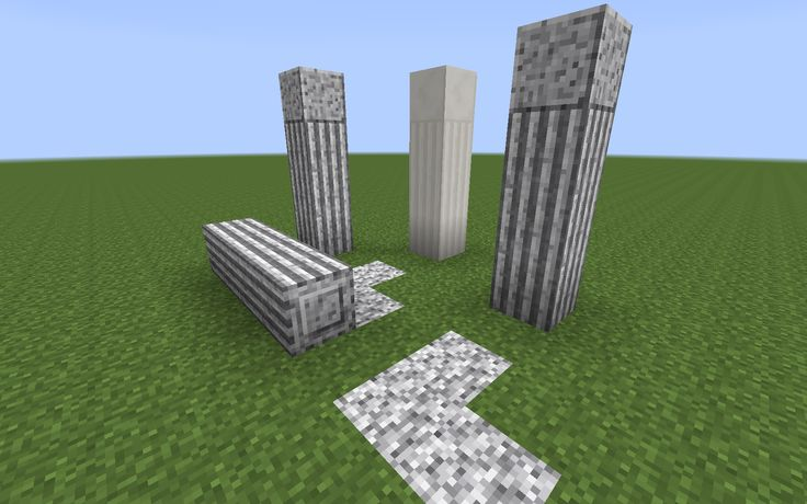 Image result for minecraft polished andesite stairs