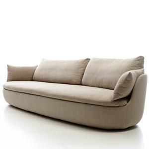 Leather Sectional Sofa Bart Sofa XL by Moooi Works