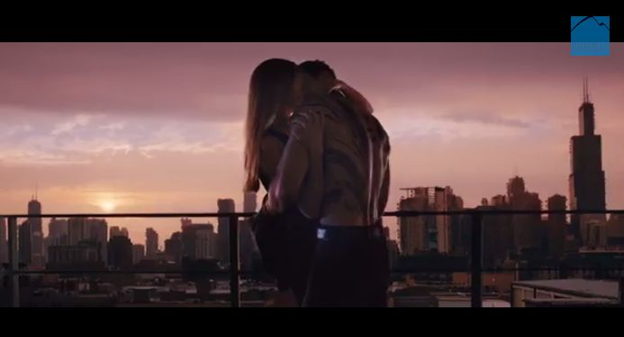Divergent Movie Trailer: Tris and Four Fight Back (and Kiss ...