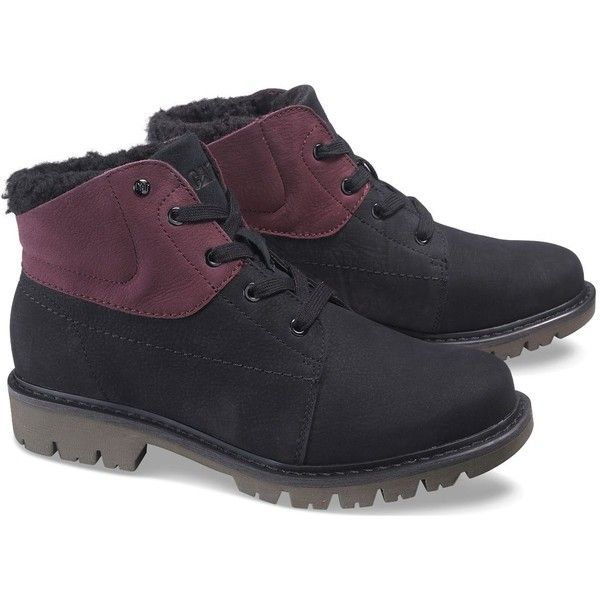 Caterpillar Fret Fur Waterproof Boot ($70) ❤ liked on Polyvore featuring men's fashion, men's shoes, men's boots, mens waterproof shoes, mens water proof boots, mens fur lined waterproof boots, caterpillar mens boots and mens fur lined shoes