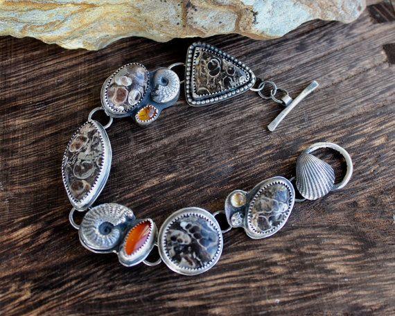 Sterling silver handmade 'treasure' by louiseodwyerdesigns on Etsy
