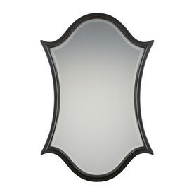 Quoizel Vanderbilt 32 X 48 Palladian Bronze Beveled Arch Framed Transitional Wall Mirror Qr2792