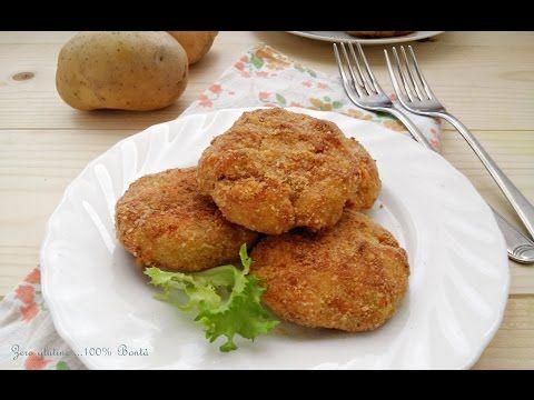 Cotolette di patate e tonno (al forno )