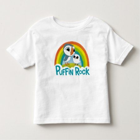 Puffin Rock Logo Toddler T-shirt - click/tap to personalize and buy