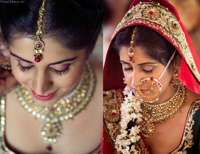 The Bride Wears Paunchi On Her Wrists Instead Of The Usual