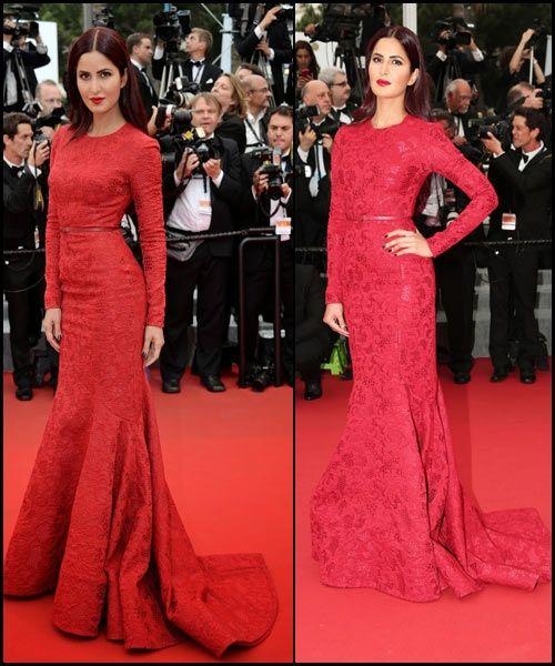 #12. Katrina Kaif in Elie Saab -- #Cannes2015