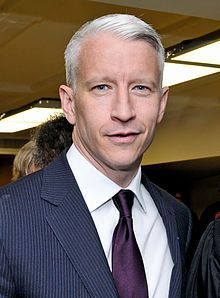 Anderson Hays Cooper (born June 3, 1967) is an American journalist, author, and television personality. He is the primary anchor of the CNN news show Anderson Cooper 360°. The program is normally broadcast live from a New York City studio; however, Cooper often broadcasts live on location for breaking news stories. From September 2011 to May 2013, he also served as host of his own eponymous syndicated daytime talk show, Anderson Live.
