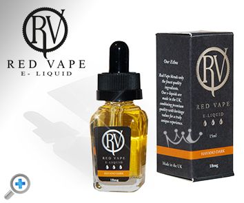 Havana Dark Red Vape electronic cigarette e-liquid made with natural ingredients 100% AMAZING  Red Vape has been working tirelessly to source the best natural ingredients for there International Collection of RV Premium e-liquids. They use only the best premium pharmaceutical grade nicotine and all their blends result in a 50% VG and 50% PG combination.