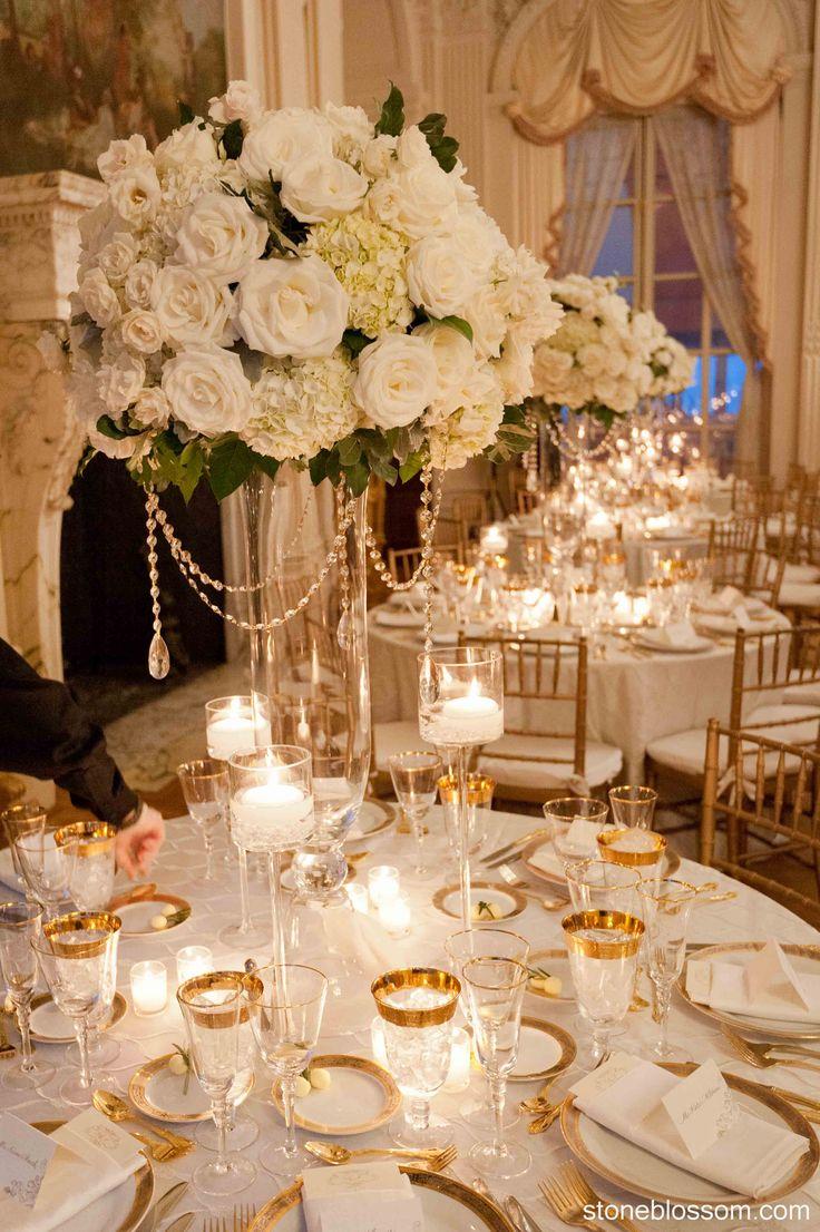 1000 images about centerpieces on pinterest center for Elegant wedding decoration ideas