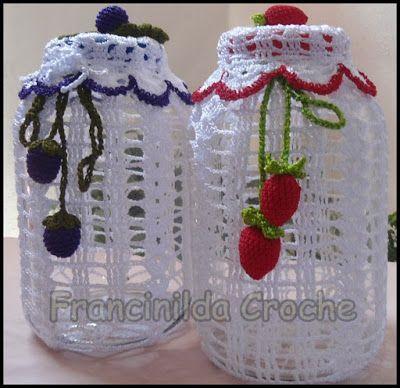 Francinilda Crochê.: Crochê para cozinha.