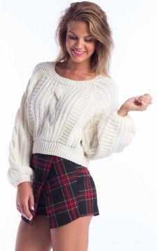 Fairy Floss Knit In White WAS $65.00 NOW $32.00 http://richgurl.com/linkout/1315338