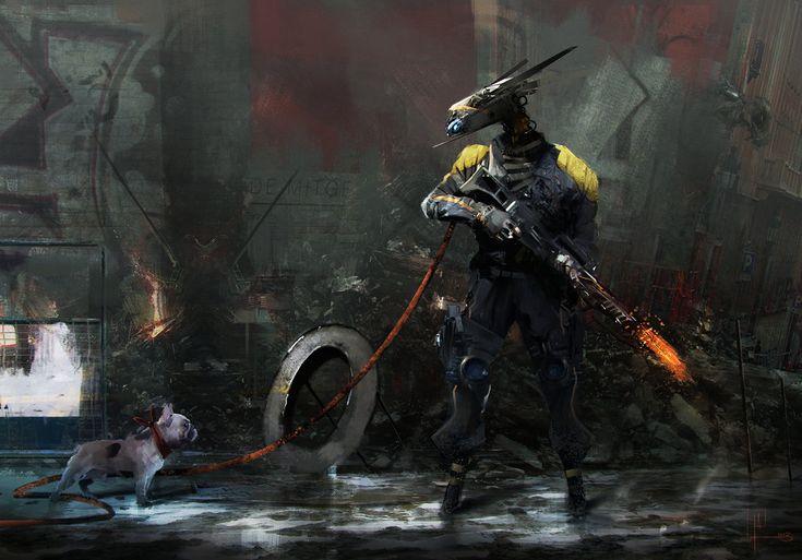 mech VS dog by AlexanderBrox0101 on deviantART