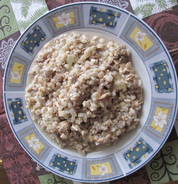 Falošná jaternicová kaša - Recept