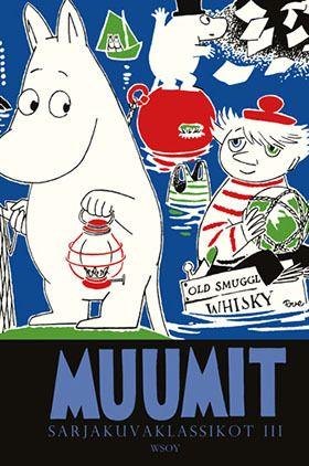 Jo kolmas albumillinen suosittuja Muumi-sarjakuvien  klassikkoja. Ikuisia ja ajankohtaisia aiheita Janssonin neljän alkuperäisen  kertomuksen verran.