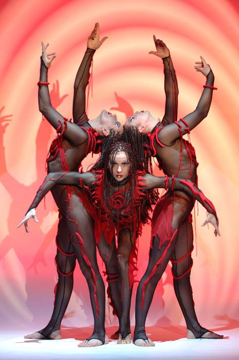 Tormented Trio – Balances and contortion | Troop | Equilibrists | Circus artists | Artists | Show Event Agency | Art Agency …