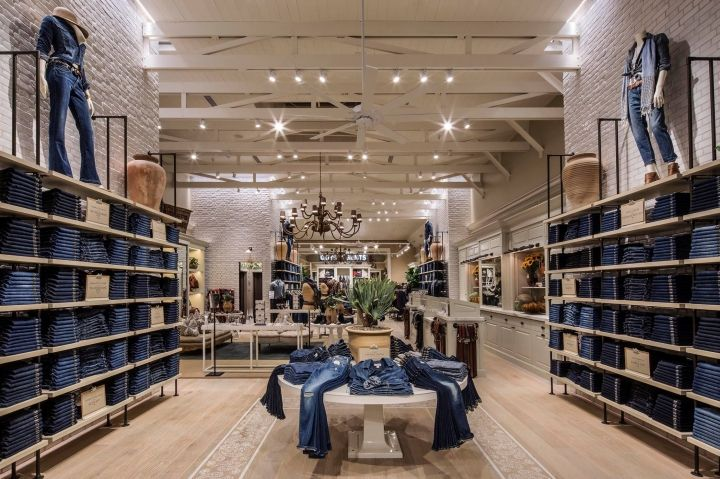 """Lucky Brand"" store Beverly Hills, USA by MNA,pinned by Ton van der Veer"