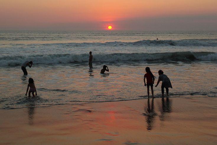 Sunset di Pantai Kuta, Bali