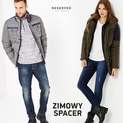Na dworze mróz i wyczekiwana zima  To doskonały czas na zimowy spacer! Jesteście zaopatrzeni w odpowiednią odzież? W Reserved nadal znajdziecie sporo płaszczy oraz kurtek w promocyjnych cenach!  >> http://bit.ly/ZimoweKurtkiDamskie >> http://bit.ly/ZimoweKurtkiMęskie
