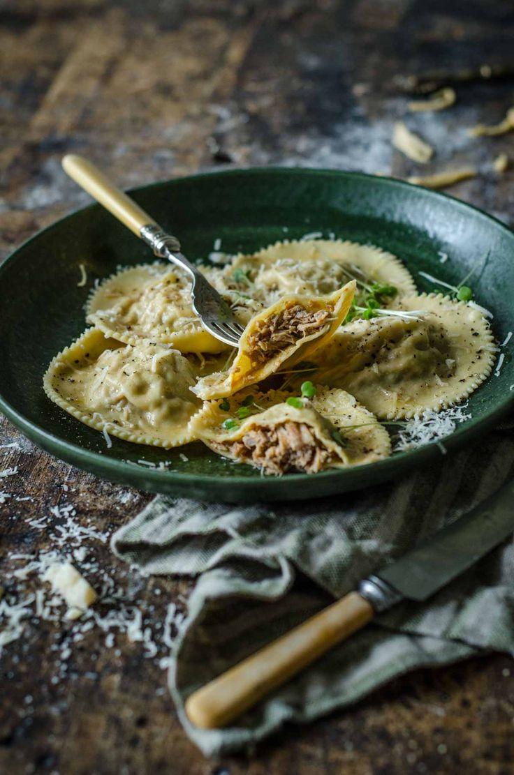 Italian Pulled Pork Ravioli