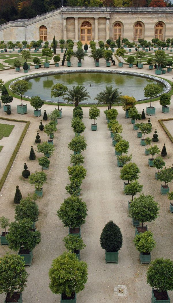 L'Orangerie, Château de Versailles à Versailles, Île-de-France - for growing orange, lemon and pomegranate trees