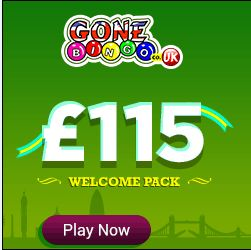 #GoneBingo offering best welcomes #bonus £115 Pack