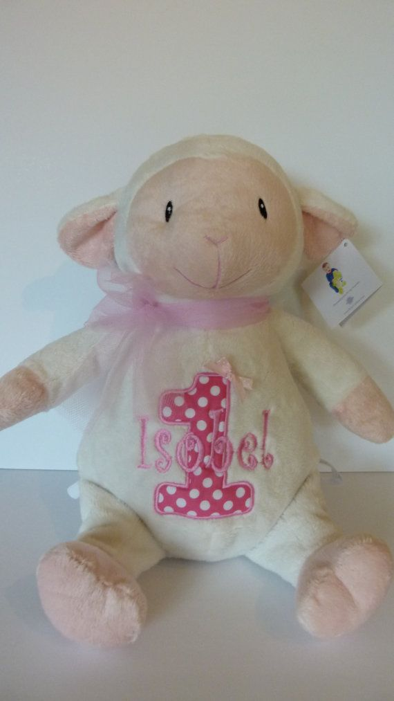Personalised Baby Gift White Lamb Keepsake or by CalliesTramore, €24.99