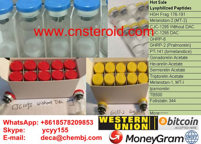 CJC-1295 Without DAC Modified GRF 1-29 CJC NO DAC CJC-1295(Without DAC) sterile lyophilized Peptide finished in 2mg/vial  cjc-1295 cjc-1295 without dac cjc-1295 with dac or without cjc-1295 dosage cjc-1295 cream cjc-1295 without dac dosage cjc-1295 without dac side effects cjc-1295 without dac and ipamorelin cjc-1295 without dac 2mg cjc-1295 without dac half life  contacts: deca E-mail:  deca@chembj.com Mob:     +8618578209853 Skype:  ycyy155 Whatsapp:+8618578209853