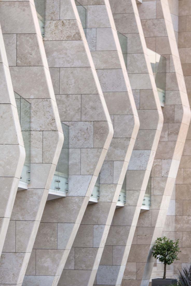 Swissotel Resort Bodrum Beach hotel, a twisting structure, is located on the highest point of the site and serves as the entry gateway to the development. #hotel #hoteldesign #architecture #architecturaldrawing #GADarchitecture #GAD #interiordesign #turkey #swissotel #turkiye #architect #mimar #mimarlik #pool #plans #villa #bodrum #luxury #gokhanavcioglu #gadarchitecture #gadfoundation