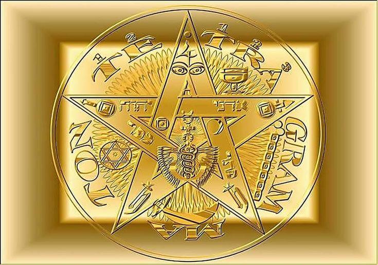Pentagrama și PentacluPentagrama sigilează corpul fizic şi pe cele energetice împotriva oric