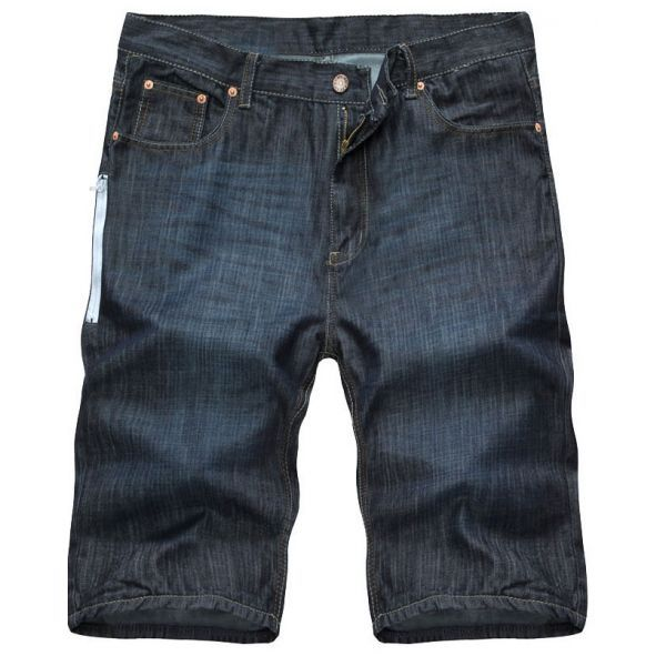 Short homme jean à poches latérales