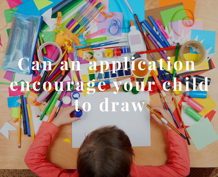 Drawing is one of the most natural ways to express ourselves. For as early as there is any record, a human being has always had a need to express ideas and feelings.  #drawing #children #application http://digital-kids.ch/application-encourages-child-to-draw/