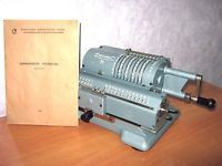 ADDING MACHINE Mechanical Calculator Counting Machine Accountant Vintage Rare
