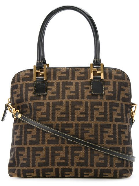 310b32e24d47 Fendi Vintage Zucca monogram shoulder bag