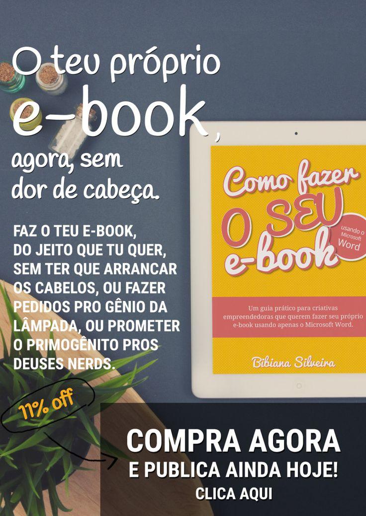 Como fazer o seu e-book | bergamotadesign.com