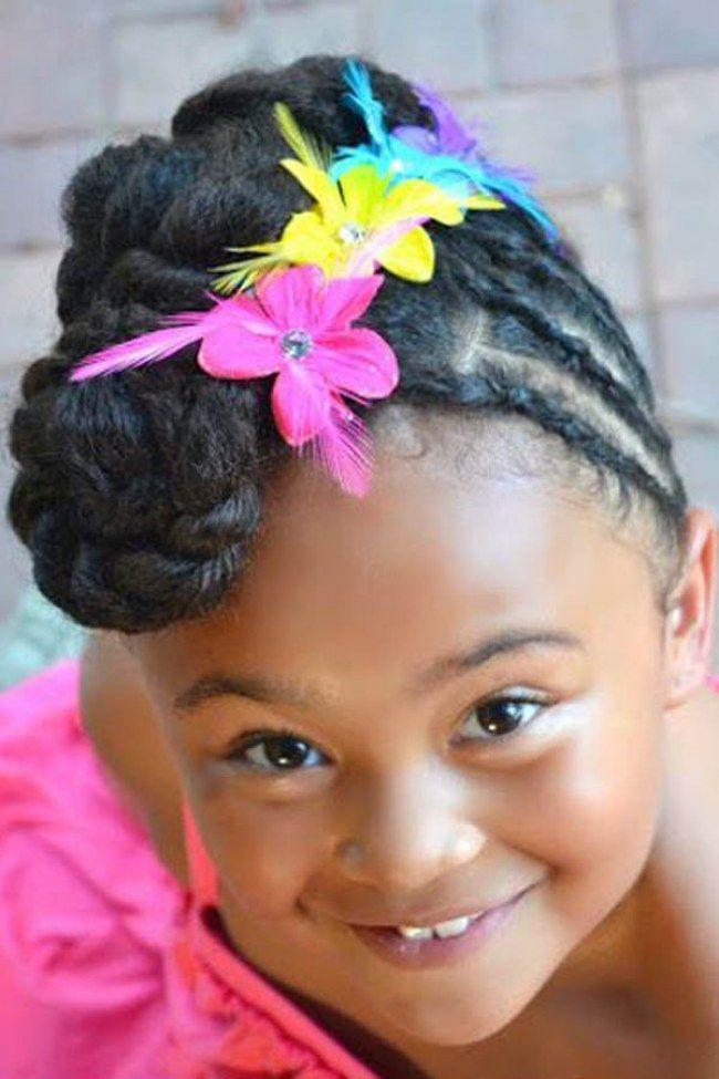 15 peinados f ciles y bonitos para ni as con el pelo afro - Peinados bonitos para ninas ...