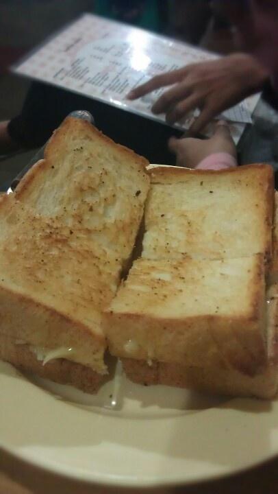 Roti bakar Srikaya