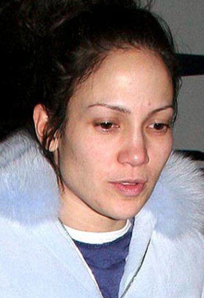 Jennifer Lopez Without Makeup Images