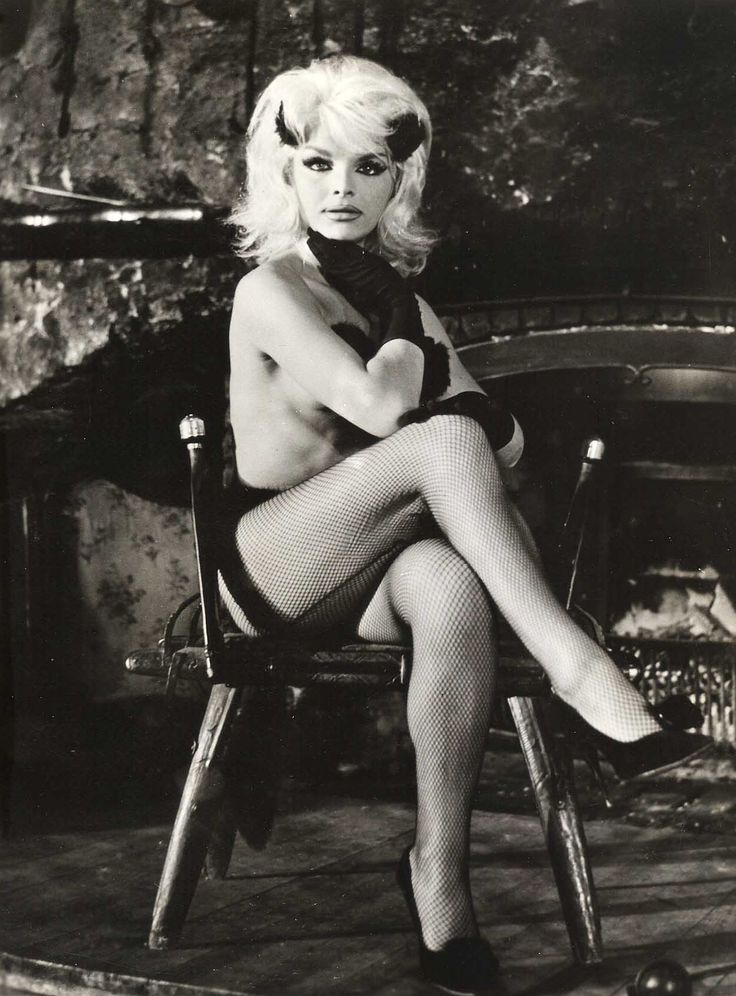 Famous French transsexual Coccinelle in the 1962's Beach Casanova
