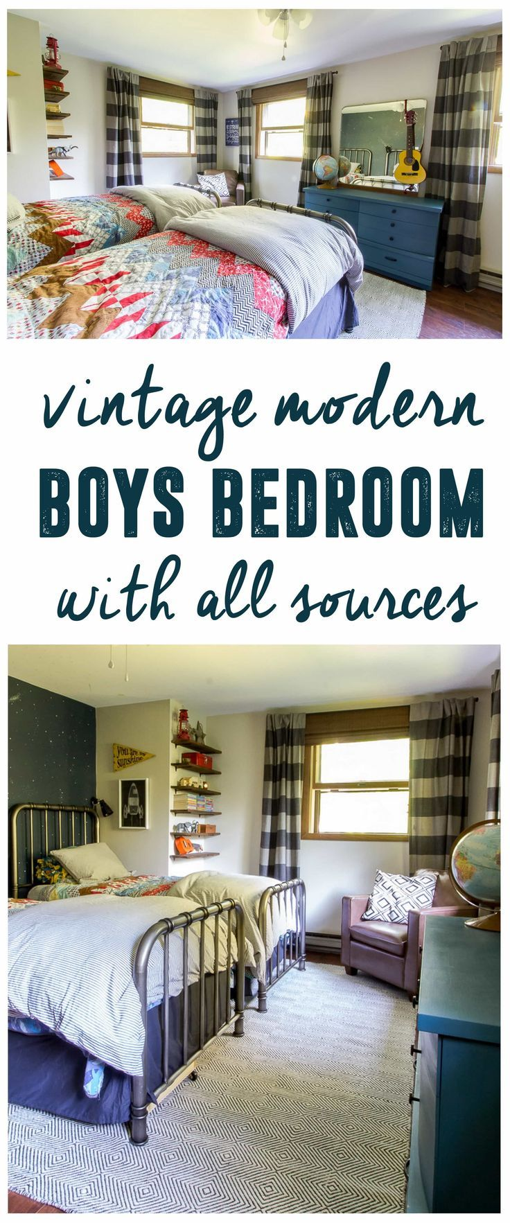modern vintage bedroom ideas%0A Modern Boys Bedroom