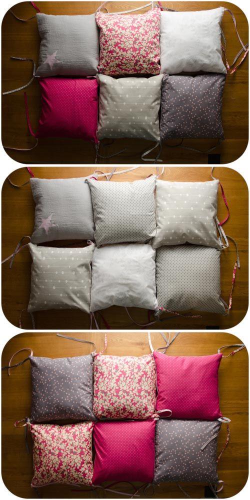 25 best ideas about tour de lit fille on pinterest diy tour de lit b b tour de lit b b and - Confectionner un tour de lit bebe ...