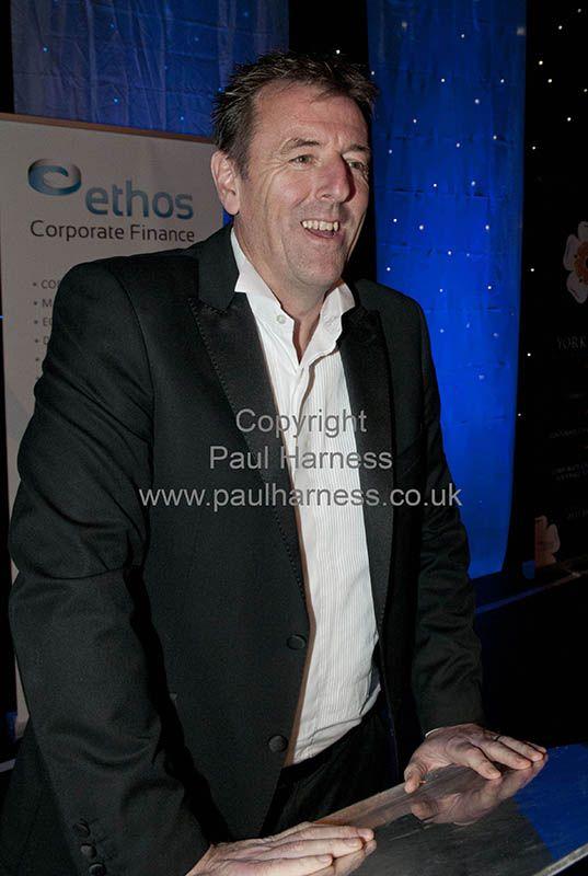 Matthew le Tissier at the Yorkshire asset based lenders dinner