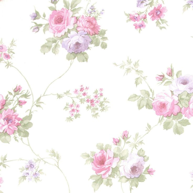 18 mejores im genes sobre papel pintado petits motifs en - Papeles pintados romanticos ...