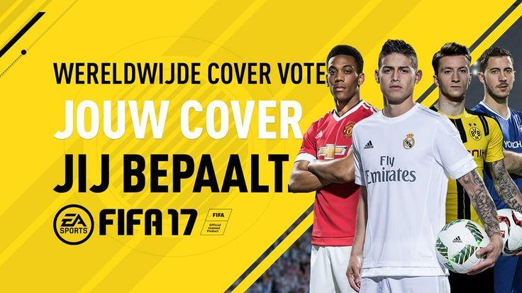 JOUW COVER. JIJ BEPAALT. James Rodriguez Anthony Martial Eden Hazard Marco Reus