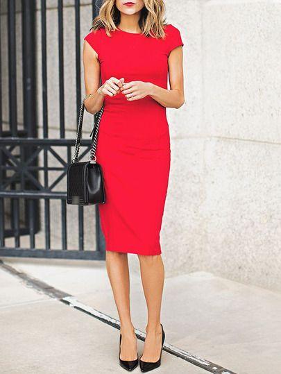 Kleid bordeaux schuhe