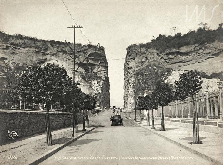"""Navegação por local """"Rua Guanabara, atual rua Pinheiro Machado; Botafogo"""""""