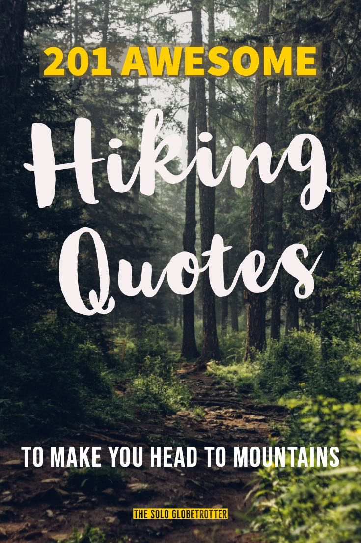 201 Truly Inspiring Hiking Quotes To Make You Pack Bags To Mountains Hiking Quotes Hiking Quotes Funny Adventure Quotes